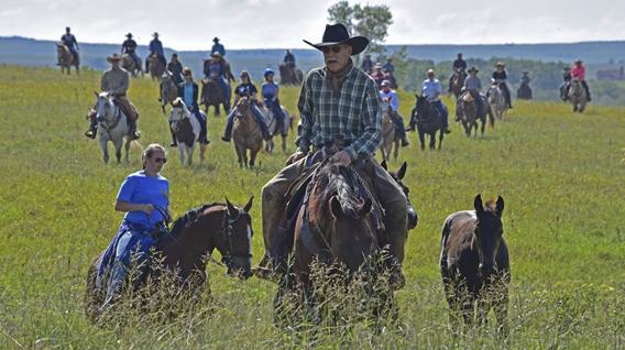 Riding at the Ranch